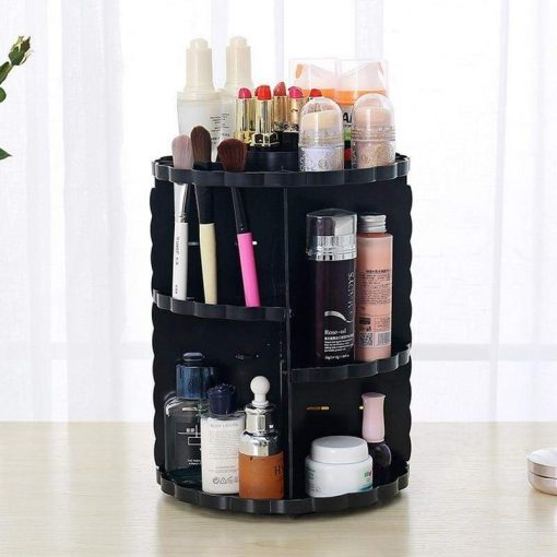 Rotating Makeup Organizer