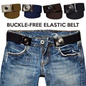 Buckle-Free Adjustable Belt