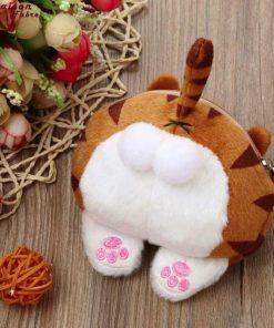 Cat Butt Fluffy Purse / Bag