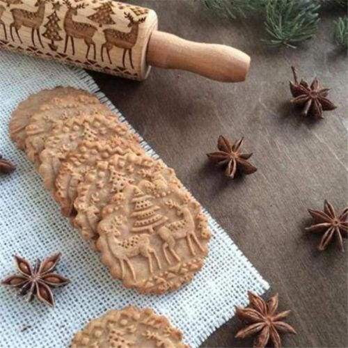 Embossed 3D Rolling Pin