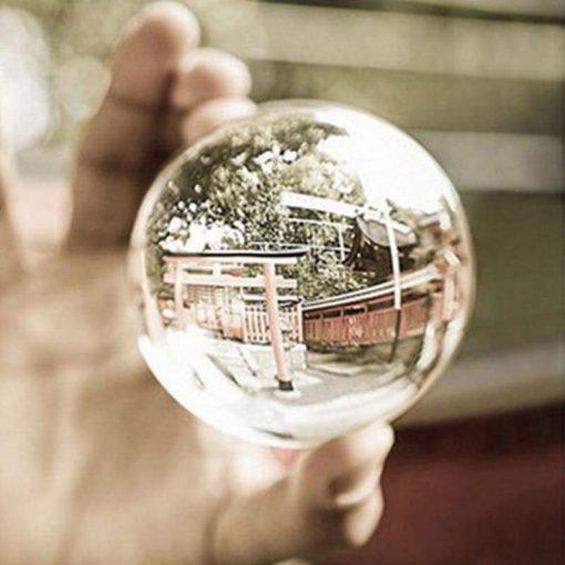 Crystal Ball Photography Lens