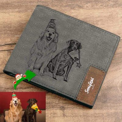 Custom Leather Wallet Of Your Favorite Photo