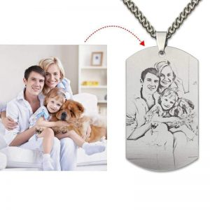 Customize Photo Necklace