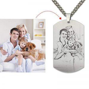 Customize Photo Necklace