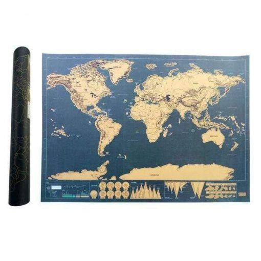 Scratch Map – Travel