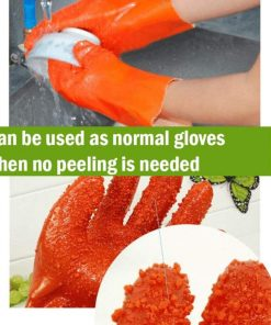 Fast Potato Peeling Gloves