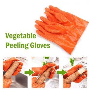Fast Potato Peeling Gloves