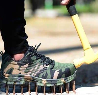 Unbreakable Camo Work Shoes