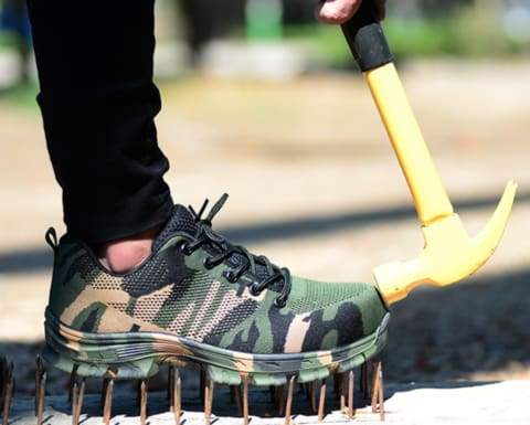Unbreakable Camo Work Shoes