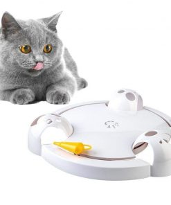 Funny Pet Toy Cat Automatic Ball Disk