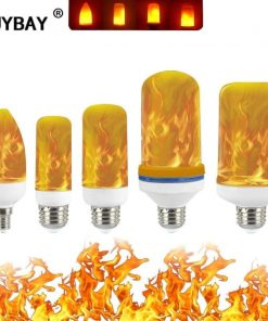 Halloween LED Dynamic Flame Lamp