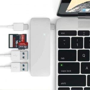 Macbook Pro Docking Station Dual Monitor 7 in 1