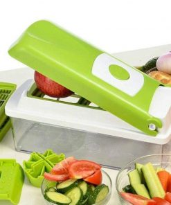 Magikware 12-Piece Vegetable Slicer, Cutter, Chopper, Grater