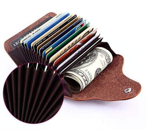 Organ Card Wallet 13 Cards Position
