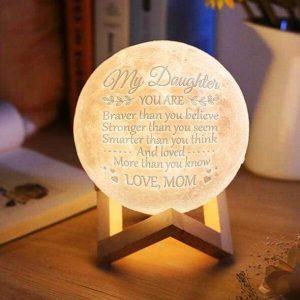 Original 3d Printed Moon Lamp