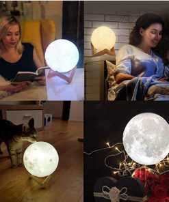 Original 3d Printed Moon Lamp