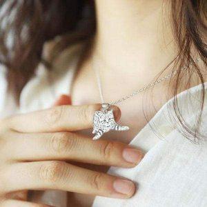 Personalize Silver Pet Necklace