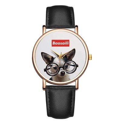 Personalized Photo Watch Leather For Her