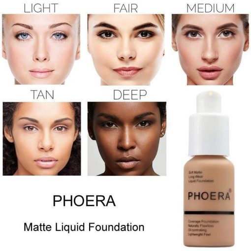 Flawless Matte Liquid Foundation