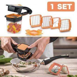 Multi-Cut Quick Food Chopper