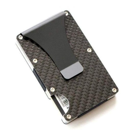 Real Carbon Fiber Rfid Wallet | Minimalist