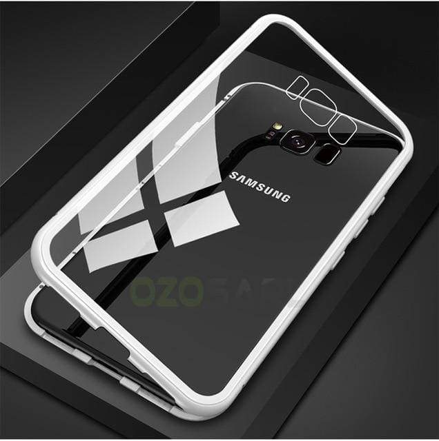 Samsung Magnetic Adsorption Case With Tempered Glass