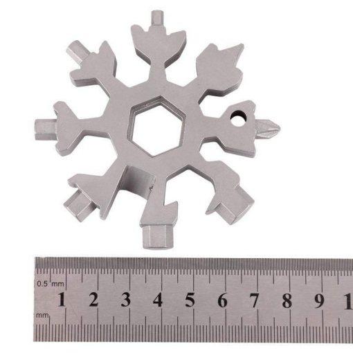 Snowflake Keychain Multi-Tool
