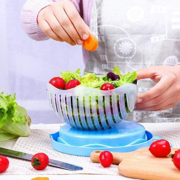 Quick Salad Cutter Bowl