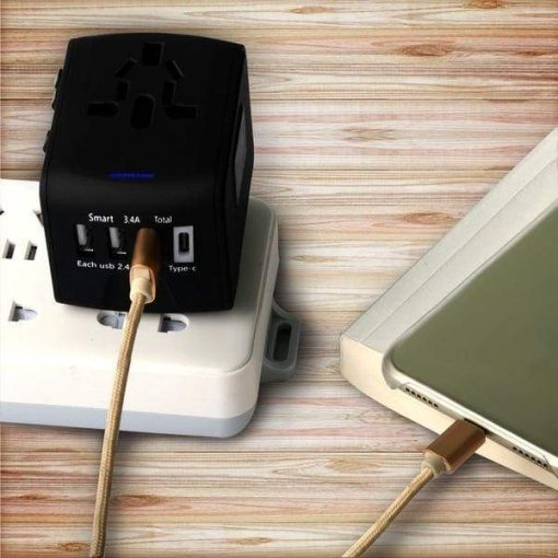 Travel adaptor power plugs