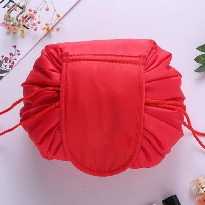 Magic Drawstring Travel Pouch Cosmetic Makeup Bag