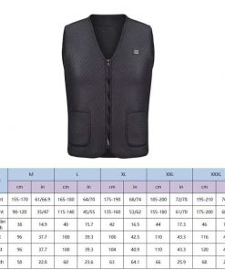 Winter Thick USB Heating Cotton Waterproof Jacket