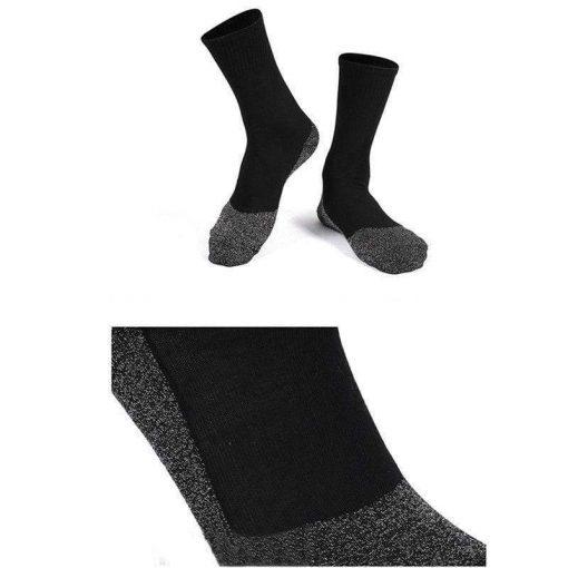 Winter 35 Below Aluminized Insulation Fibers Heat Socks