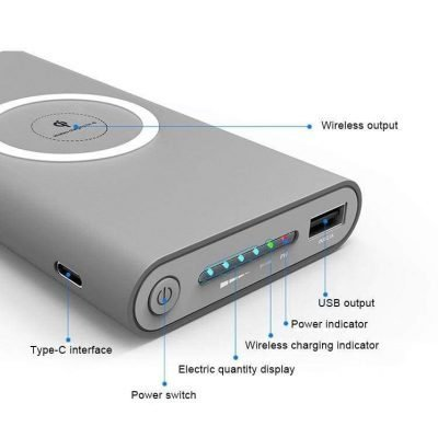 Wireless Powerbank 10,000 mAh Portable