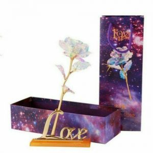 White Lighting 24K Eternal Gold Rose
