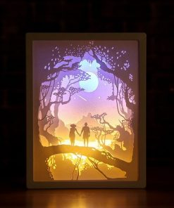 3D Paper Carving Night Lights