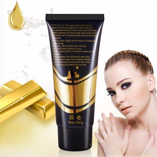 Golden Face Mask