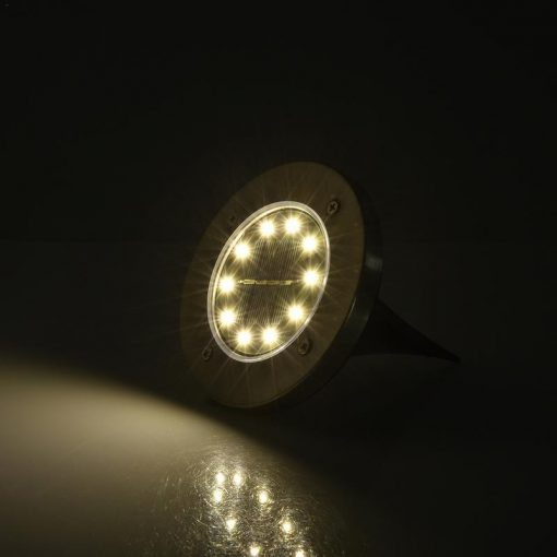 LED Solar Powered In-Ground Lights