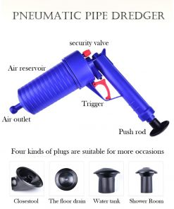 Sink & Toilet Pipe Drain Blaster