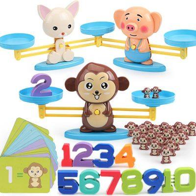 Play & Learn Balance Monkey Game