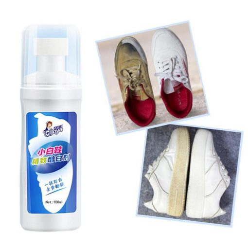 Quick Shoe Whitening Solution