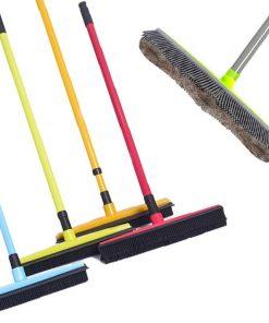Rubber Broom