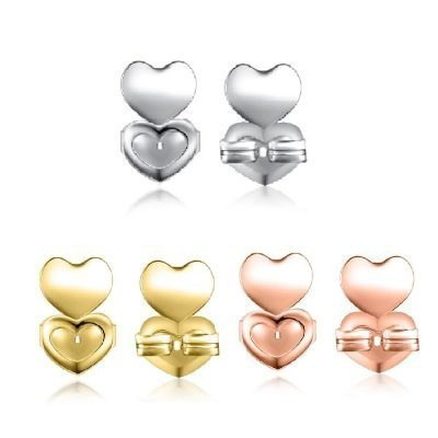 Gold & Silver Hypoallergenic Earring Back Supports