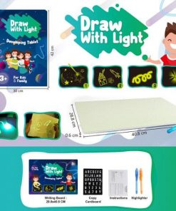 Doodstage Light Drawing - Fun and Developing Toy Board