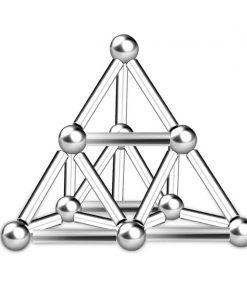 Magnetic Steel Sticks & Balls Building Set