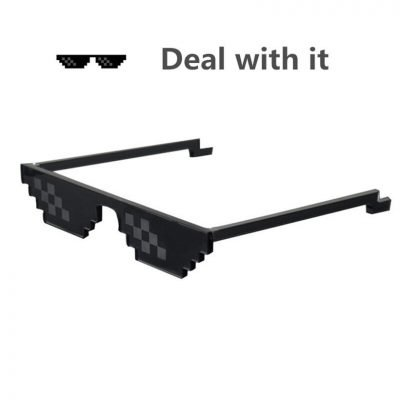 Deal With It thug life Glasses