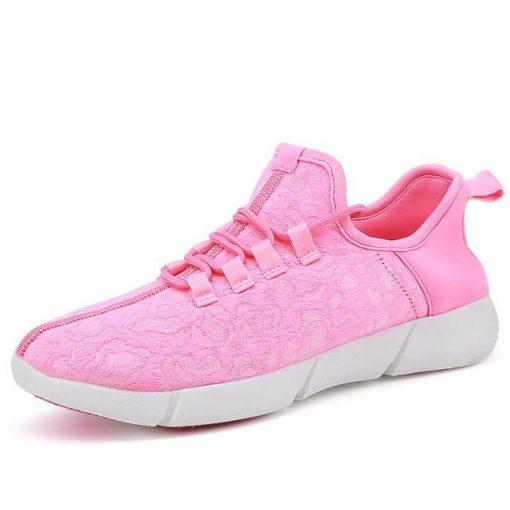 Luminous Fiber-Optic Led Sneakers