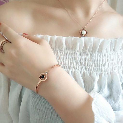 100 Languages Lover Bracelet