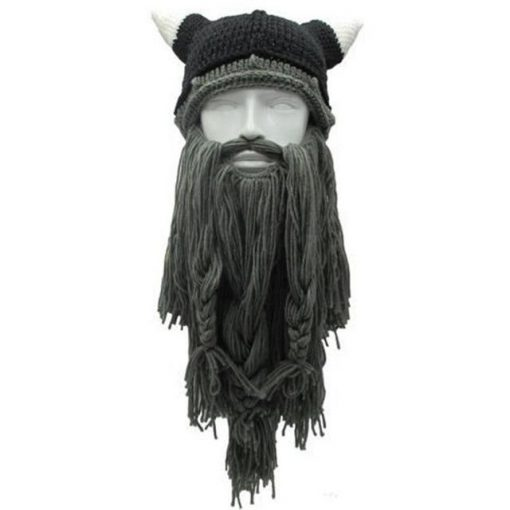 The Legendary Barbarian Beard Beanie - VikingX