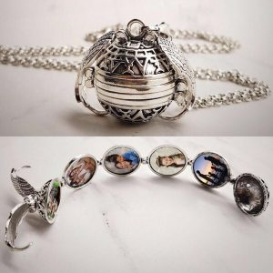 Angel Wing – Expanding Photo Locket