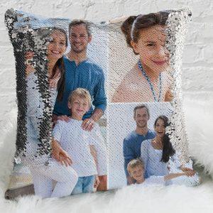Custom Magic Sequin Pillow Cover